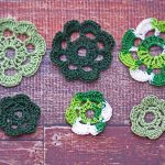 Crochet Green Flowers
