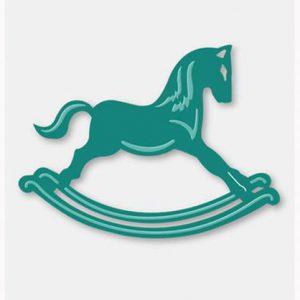 Couture Creations Secret Treasures Dies - Rocking Horse (86 x 64mm)