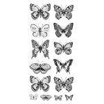 Clear Sticker - Butterflies