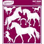 Matt Board Jumbo - Horses