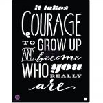 Stencil - Courage
