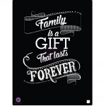 Stencil - Family Is A Gift