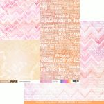 Daydreams Double Sided Paper - Remember