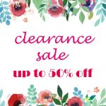 ***CLEARANCE SALE***